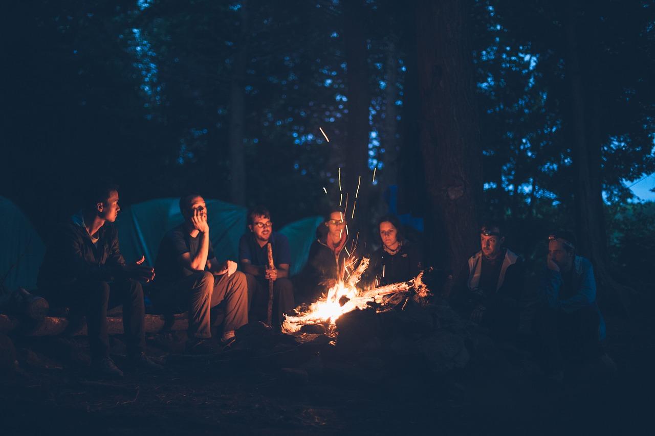 若いときキャンプをしてて死にかけました。。